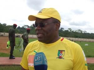 Le Team Press des Lions détruit le Team Manager Rigobert Song dans Sport raphael-nkoa-300x225