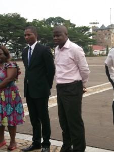 Essomba et Kono Bernard Roger, deux récipiendaires de la catégorie C