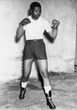 Le boxeur Madiba