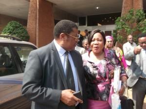 Jean Mbarga et Bibi Régine Amougou