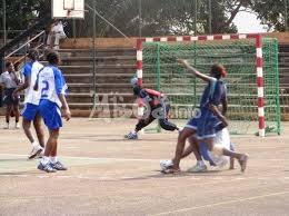 Un match de handball